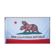 3x5 FT New California Republic Flag Fallout Two Headed Bear Pub Bar Party Flag