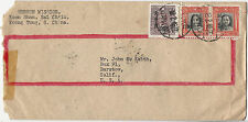 China Canton 廣州 (Guangzhou) 18 Feb 1948 Inflationary Period Cover to California