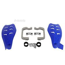 2x Blue Motorcycle Hand Guard Shields For Dirt Bike/ATV Snowmobile Dual Purpose