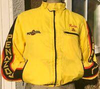 Vintage 1989 Pennzoil Racing Jacket In The 500