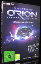 PC + MAC MASTER OF ORION - COMPLETE EDITION - Weltraum Strategie inkl. 1 + 2 + 3