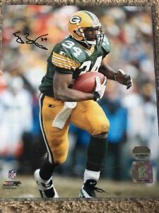 Edgar Bennett Signed Green Bay Packers 8x10 Photo Mounted Memories