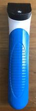 Nova SD-3200 Hair Trimmer for Men - White and Blue w/ battery