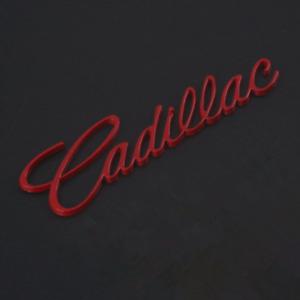 Red Car Rear Trunk Lid Cadillac Logo Emblem for XT5 CT6 ATSL SRX XTS Escalade