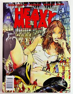 Milo Manara GULLIVERA graphic novel HEAVY METAL MAGAZINE July 1997 erotic comic