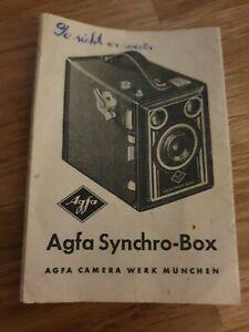 Kleine Broschüre AGFA SYNCHRO BOX München