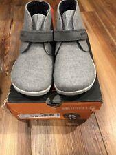 Merrell Boys' Bare Steps Boot Chukka, Grey/Stormy Kromer, 10.0 M US Toddler