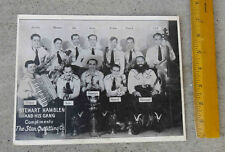 Original 1930s Promo Photo Picture Stewart Hamblen &  His Gang Star Outfitting