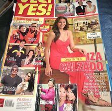 ☀️YES! Magazine 2010 Actress Model IZA CALZADO Philippines Showbiz Fashion RARE