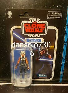 Star Wars Vintage Collection AHSOKA TANO MANDALORE VC202 **package flaws***