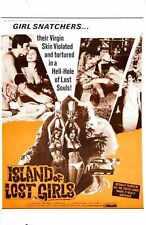 Island Of Lost Girls Poster 01 A4 10x8 impresión fotográfica