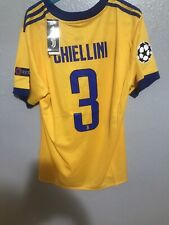 Giorgio Chiellini Juventus Jersey NWT Rare Away Champions League Large