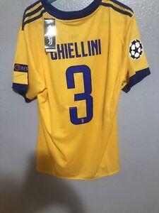 Giorgio Chiellini Juventus Jersey NWT Rare Away Champions League Large