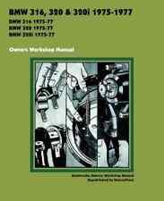 BMW 316, 320, 320i 1975-1977 OWNERS WORKSHOP MANUAL
