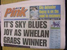 23/12/1995 COVENTRY evening Telegraph il rosa: principali titolo recita: è Sky BL