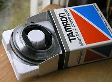 Montura Minolta MD Tamron Adaptall 2 (no para más tarde AF/Sony)