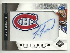 2011-12 Rookie Anthology LIMITED Phenoms Patch Auto #259  LOUIS LEBLANC #169/299