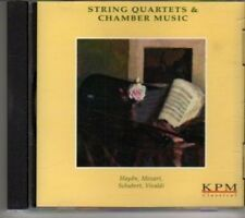 (BV419) KPM Classical Series, String Quartets & Chamber Music - 2001 CD