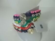 Gap Pink Gold Toggle Friendship bracelet Grn Blue Bracelet Nwt $19.95 Each set 2