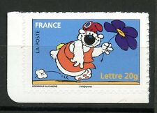 STAMP / TIMBRE FRANCE  N° 3958 ** SOURIRES / LE CHIEN CUBITUS / AUTOADHESIF