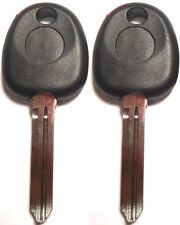 2 NEW FOR HYUNDAI KIA Transponder Chipped Master Key Blanks - HY11D-PT HYN14RT14
