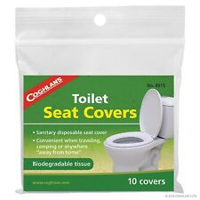 Coghlan's Biodegradable Toilet Seat Covers 10-Pack