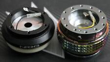NRG STEERING WHEEL QUICK RELEASE HUB 2.1 GUN METAL-NEO HONDA CRZ FIT EK EX S2000