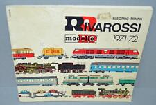 Old Model Railway Sales Catalogue For Rivarossi Toys 1971/72 - HO