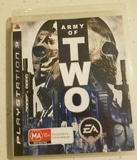 Army Of Two PS3 - Complete- Fast Free Post! VGC!!!