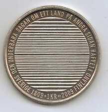 SWEDEN - 1 Krona - Carl XVI Gustaf (Separation from Finland) 2009 – 7 g – ø 25mm