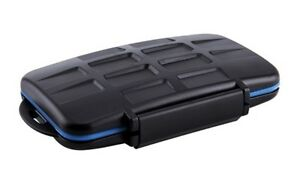 Memory Card Case MC-1 Speicherkartenbox For 4 Cf And 8 Ms pro Duo Cards