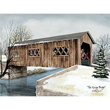 Billy Jacobs The Kissing Bridge Art Print 16 x 12