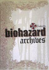 Resident Evil Biohazard Archives CAPCOM art book rare