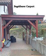 Carport begehbar Balkonbeschichtung  Balkonabdichtung   Flachdach  Bausatz WPC