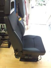 LTI / LTC TX1, TX2 & TX4 Half Leather Drivers Seat. London black cab. Taxi Seat