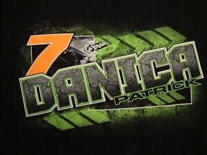 Danica Patrick GoDaddy.com Go Daddy NASCAR #7 Racing Race Fan  T Shirt M