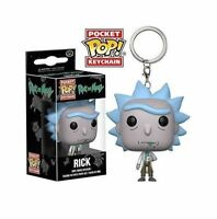 Funko Rick and Morty Rick Sanchez Pocket Pop! Vinyl Figure Key Chain Ring