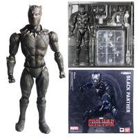 S.H.Figuarts SHF Marvel Captain America Civil War Black Panther Action Figure