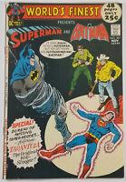 Worlds Finest Comics #207 VF- Superman Batman 1971 Bronze Age