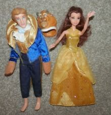 belle & Beast prince  from disney Beauty and the Beast Collector 1999 loose
