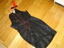 Mardi Gras1920s twenties flapper costume black beaded dress sz 14 Gatsby