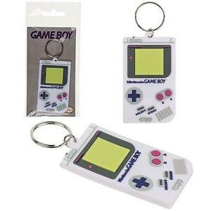 Official Nintendo Retro Keyring Key Chain Gameboy Retro Souvenir 80's Gift