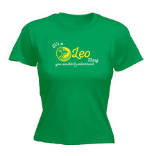 Funny Novelty Tops T-Shirt Womens tee TShirt - Its A Leo Thing You Wouldnt Under