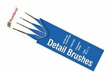 Humbrol AG4304 Detail Paint Brush Pack Sizes 00, 0, 1, 2