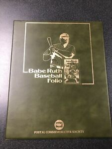 Babe Ruth First Day Cover & Folio Book
