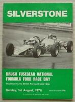 SILVERSTONE 1 Aug 1976 BRDC NATIONAL FORMULA FORD RACE DAY Official Programme