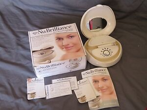 NuBrilliance Real Diamond Microdermabrasion Kit At Home Skin Care System 30212