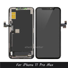 For iPhone 11 Pro Max Black Replacement LCD Display Touch Screen Digitizer Frame