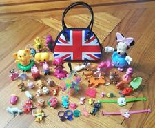 Bunch of Toy and Great Britain Flag Tin Bag for Kids Peppa,Pony,Frozen,Ring etc