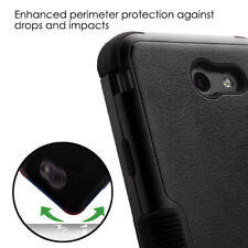 For Samsung Galaxy Halo I8520 - HYBRID HARD&SOFT RUBBER ARMOR IMPACT CASE BLACK